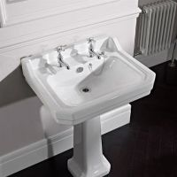 Pure York 2 Hole Basin and Pedestal