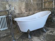Minster Single Ended 1700mm Slipper Bath