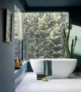 Pure Piccolo Curve+ Freestanding Bath