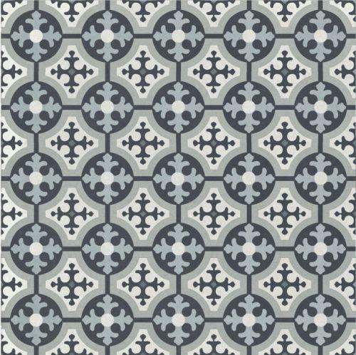 Deco 3 200 x 200 Encaustic Style Tile