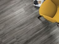 Kudos Grafite Wood Effect Floor Tile