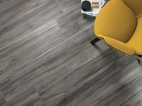 Kudos Grafite Wood Effect Floor Tile