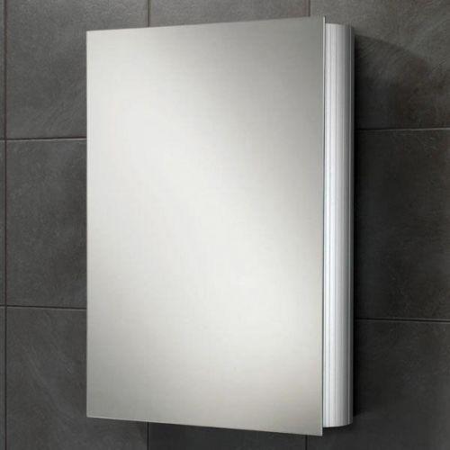 Trend Aluminium Single Door Mirror Cabinet 70cm x 50cm