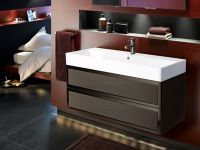 Elysee 2 Drawer Basin Unit & Basin W80