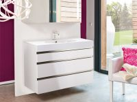 Jules 3 Drawer Basin Unit & Basin W100