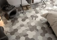 Fusion Grey Hexagon Tile 175 x 200