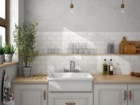 Malvern White Wall Tile 75 x 150
