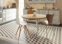 Plain Black Floor Tile