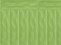 Colours Green Pattern Wall Tile 75x300