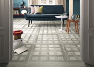 Woodland Inlay Grey Floor Tile 600 x 600