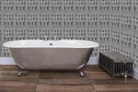 Bisley Polished Cast Iron Bath