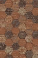Seattle Brick Hexagon Tile 250x216