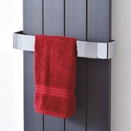 Brooklyn Chrome Towel Rail for 4 Section Radiator