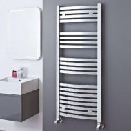 Elite Chrome Curved Towel Radiator