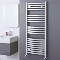 Elite Chrome Curved Towel Radiator