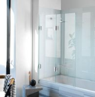 Diptych Glass Shower-Bath Screen