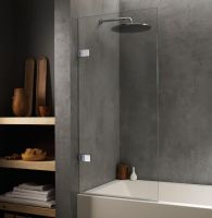 Genoa Glass Shower-Bath Screen