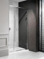 Classic Hinged Shower Door with Inline Panel