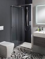 Edge Infold Shower Door