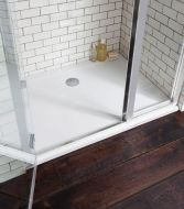 Simpsons Easy Clean Shower Tray 760x900