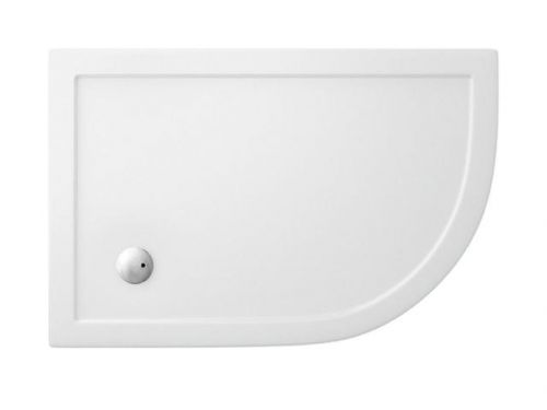 Simpsons Easy Clean Offset Quadrant Shower Tray 900x1200