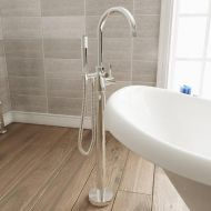 Javea Floor Standing Mono Bath Shower Mixer