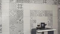 Umbria Gris Mosaic Floor Tile 257x515