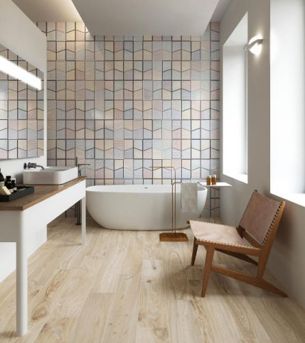 Sicily Multi Colour Feature Floor Or Wall Tile 320x625 The Tile
