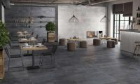 Metallics Pewter Floor Tile 607x607