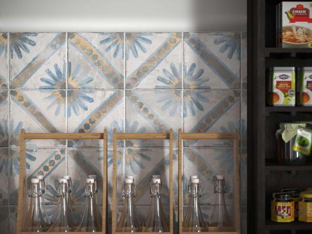 Encaustic Style Tiles