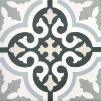 Renaissance Calipso 200 x 200 Encaustic Style Tile