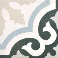Renaissance Carlin 200 x 200 Encaustic Style Tile
