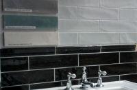 Baker Street Black Moldura Wall Tile 50x300
