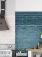 Baker Street White Wall Tile 75x300