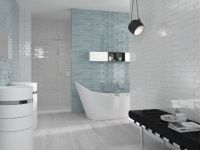 Chateau Aqua Wall Tile 75x300