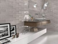 Chateau Light Grey Wall Tile 75x300