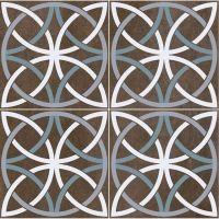 Bosham Black Floor Tile 450 x 450