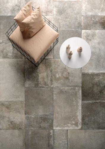 Castle Grey Floor Tile 302 x 604