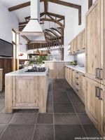 Priory Carbon Natural Floor Tile 608x608