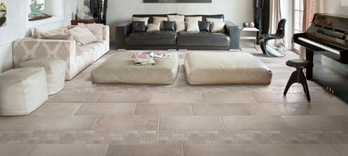 Priory Stone Natural Floor Tile 608x608