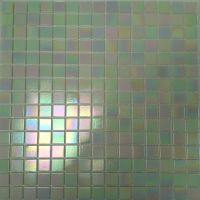Shimmer White Glass Mosaic Wall Tile 330 x 330