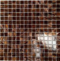 Glitter Mosaic Wall Tile 330 x 330 Bronze