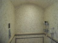 Tuscany Tumbled Travertine Mosaic 23 x 23