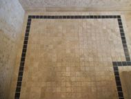 Tuscany Tumbled Travertine Mosaic 48 x 48