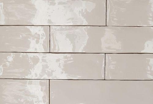 Rustic Metro Cream Wall Tile 75x300