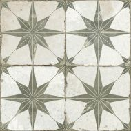FS Heritage Star Sage Floor Tile 450 x 450