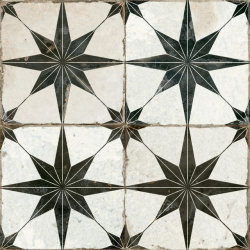 FS Heritage Star Floor Tile 450 x 450