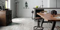 Silva White Floor Tile