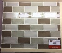 VA Taupe Gloss Wall Tile 65 x 130