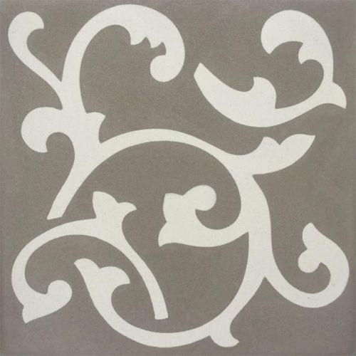 Encaustic Tile - VA Bloomsbury Handmade Encaustic Tile 20cm x 20cm